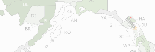 Haines Borough County Map